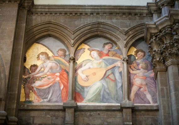 Florence cathedral, Angel musicians