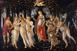 La Primavera by Botticelli - Uffizi, Florence