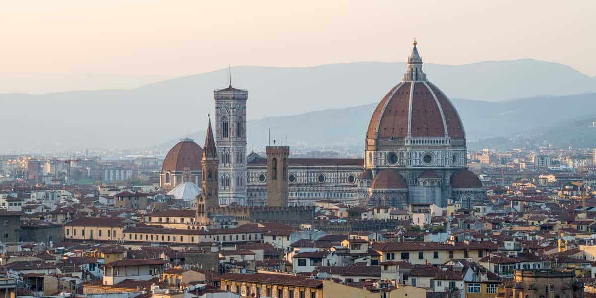 Santa Maria del Fiore and Florence's skyline